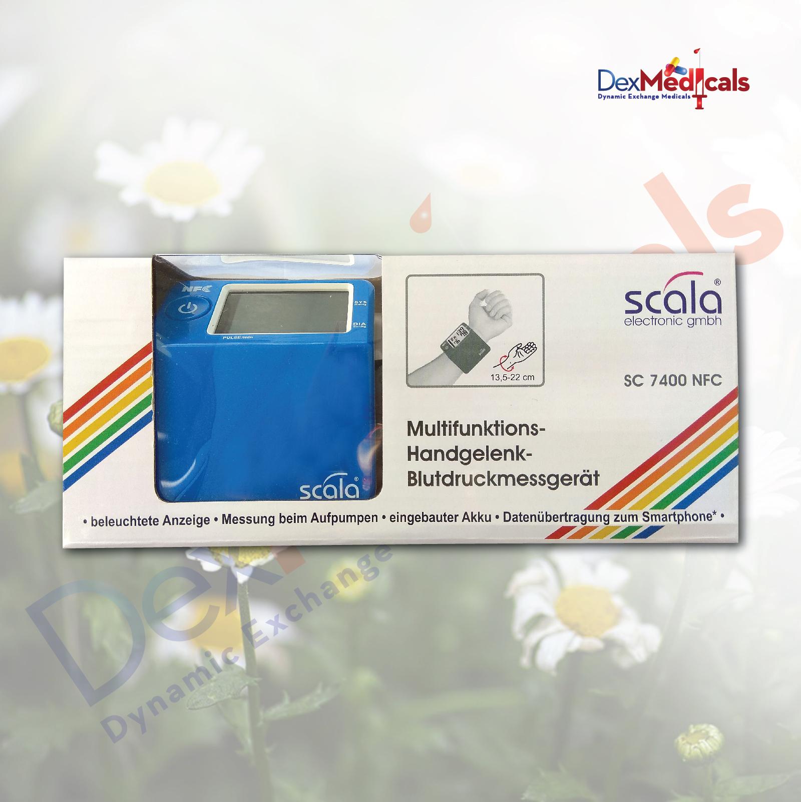 Апарат за измерване на кръвно налягане за китка Scala SC..
